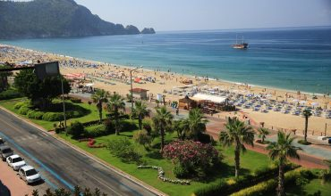 Cleopatra beach of Alanya