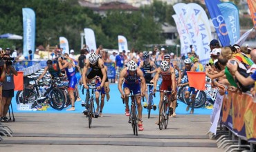 Triathlon is a traditional sport in Alanya