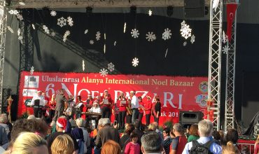 Christmas market in Alanya