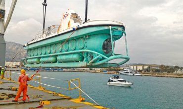 First tourist submarine in Alanya