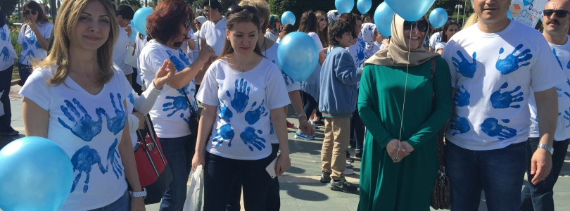 The world autism awereness day was clebrated in Alanya