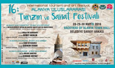 Entertainment programme of Alanya Tourism and Art Festival
