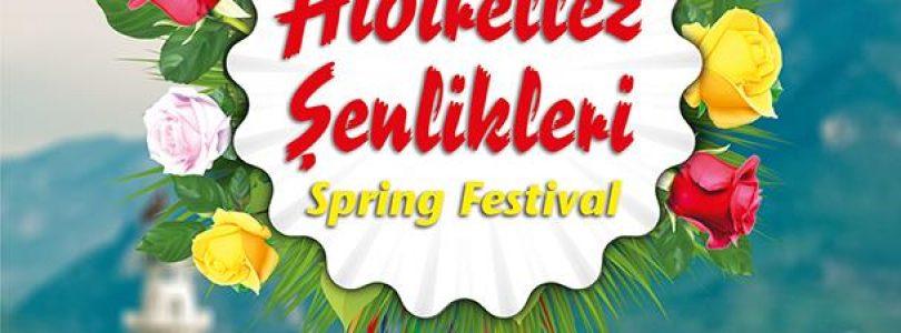 Spring festival in Alanya