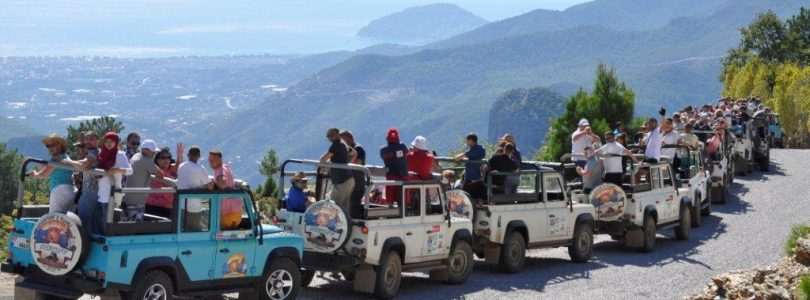 Time to discover nature in Alanya with Jeep Safari