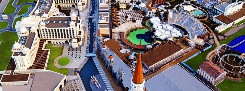The Land of Legends Theme Park in Antalya