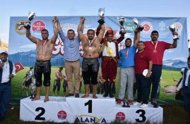 Oil Wrestling Festival in Alanya At National TV Kanal D