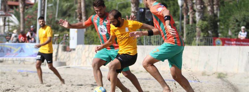 Strandfotbollsfinal i Alanya