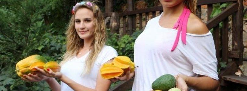 Tropical fruits in Alanya