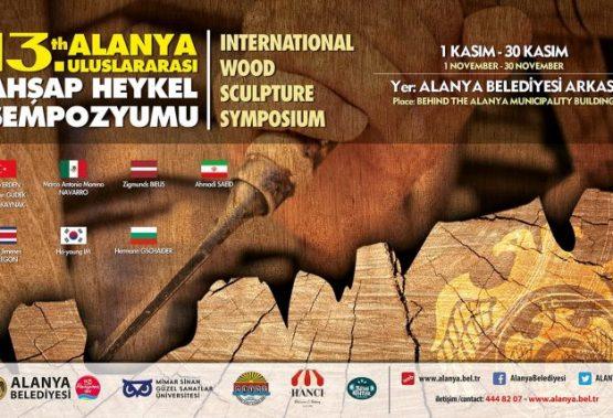 Se nydelige treskulpturer i Alanya