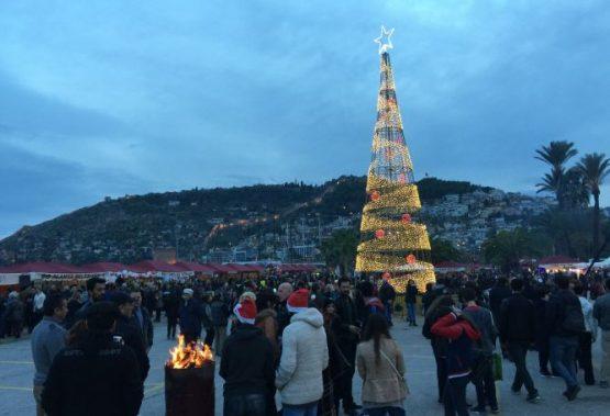 Christmas market in Alanya