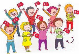 Children's day on 23 April in Alanya