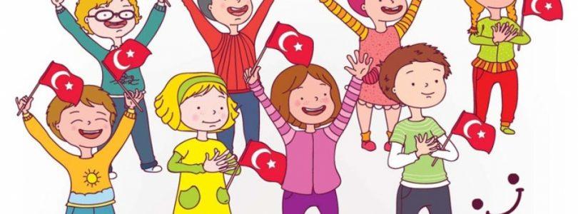 Children's day on 23 April in Alanya
