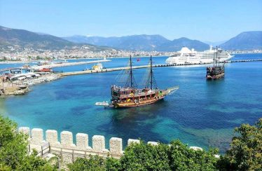 What is new in Alanya in 3 years time?