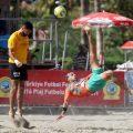 Beach football in Alanya