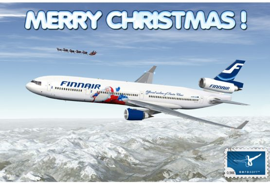 New year present to Alanya by Finnair
