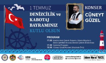 First of July navigation and coastal trade fest in Alanya