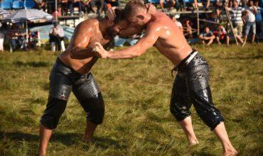 Oil Wrestling Fest in Alanya