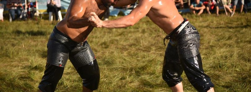 Oil Wrestling Fest in Alanya