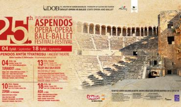 25. International Aspendos Opera and Ballet Festival