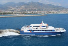 Ferry to Girne (Kyrenia) from Alanya