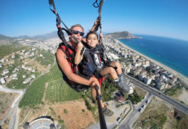 Paragliding world championship in Alanya