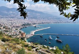 Alanya view from Alanya castle taken by Yakup Uslu