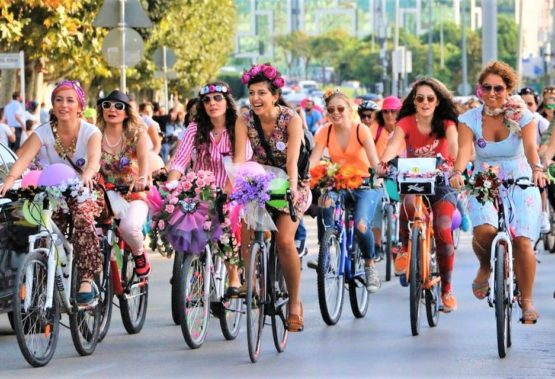 Fancy Women Cycling Tour Alanya