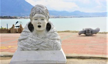 Stone Sculpture Symposium in Alanya