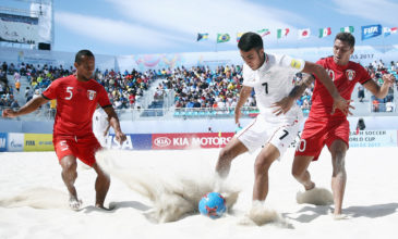 Champions League of Beach Soccer in Alanya