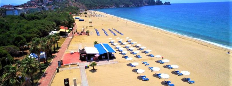 Alanya's beaches ready