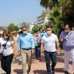 Alanya Municipality Mayor Adem Murat Yücel and ALTID President Burhan Sili