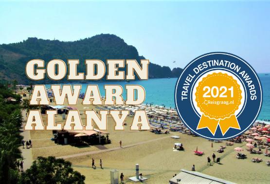Golden award to Alanya
